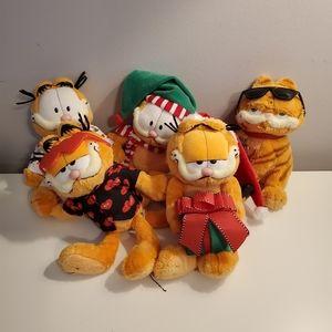 Ty beanies, Garfield bundle of plush